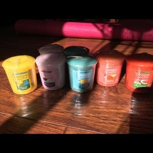 Bundle of 7 New Yankee Candles
